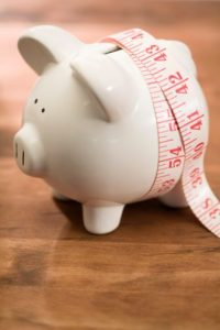 Piggy Bank On Diet